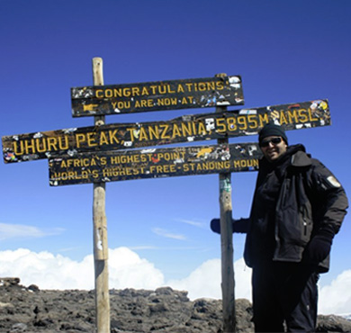 Kilimandjaro summit 2011