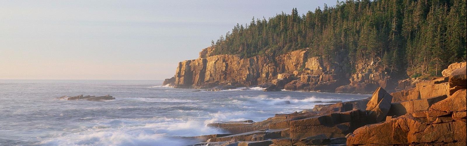 Acadia Mountain, Maine - Hiking  outdoor nature water rock landscape sky beach coast ocean mountain canyon