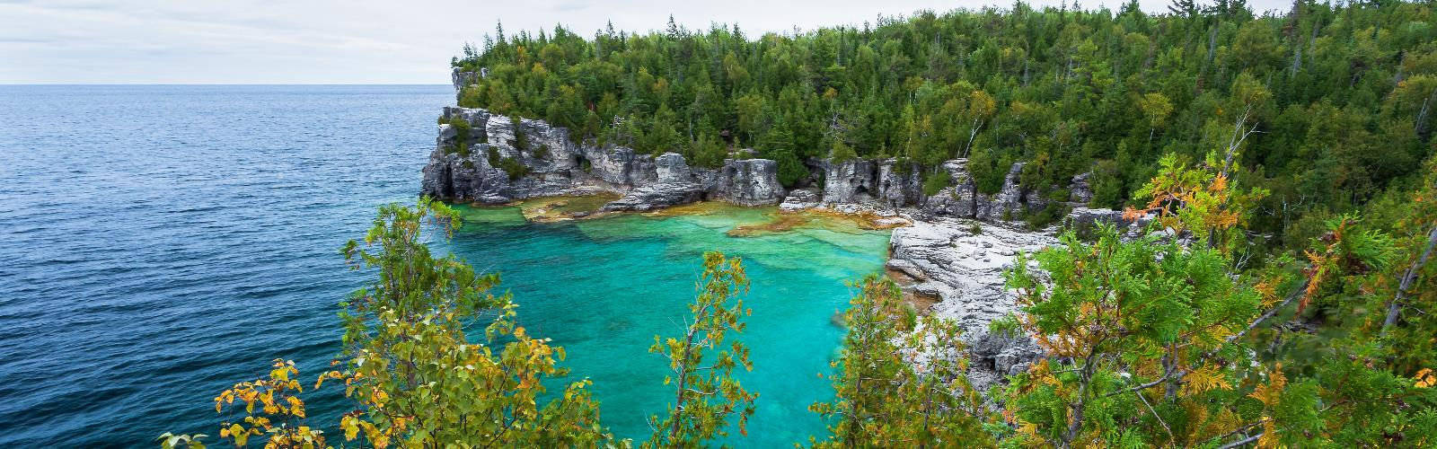 Bruce Peninsula National Park High Point, Ontario - Hiking