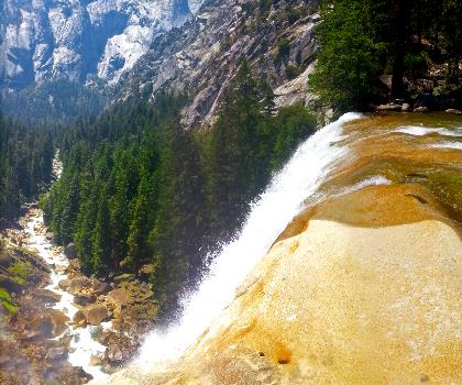 Vernal and Nevada Falls (The Mist) Trail