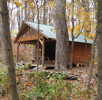 Shelters on the Appalachian Trail